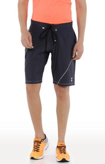 Azani | Navy Solid Shorts