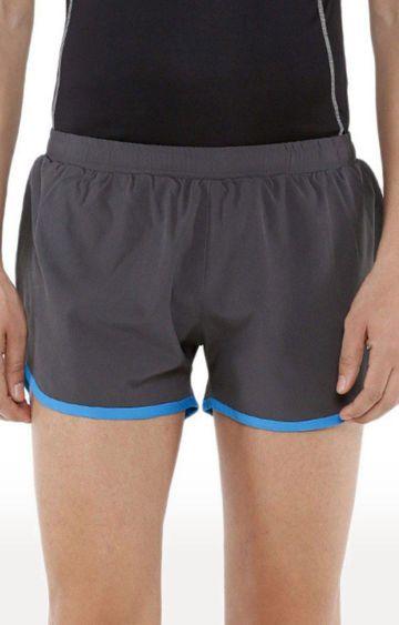 Azani | Dark Grey and Scuba Blue Solid Shorts