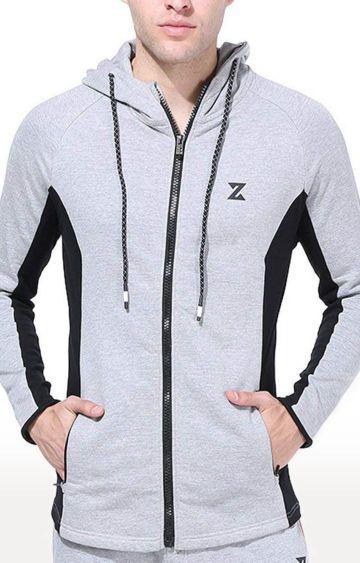 Azani | Grey Melange Activewear Jacket