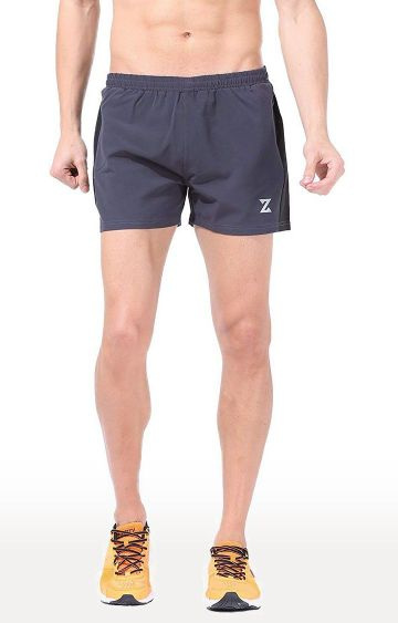 Azani | Dark Grey Solid Shorts