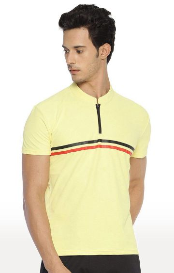 Azani | Yellow Striped T-Shirt