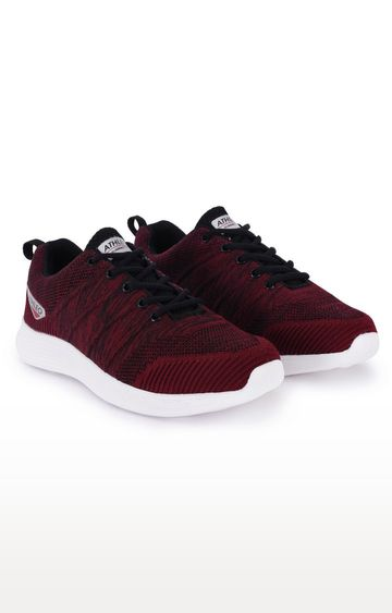 ATHLEO by Action | Maroon Sports Shoes