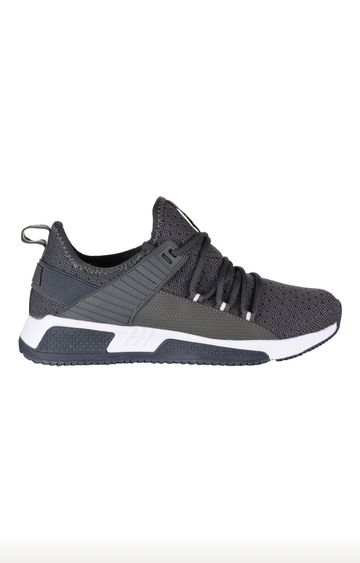 ATHLEO by Action   ATHLEO Dark Grey Sports Shoes