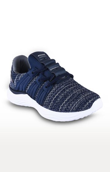 ATHLEO by Action | Navy and Dark Grey Running Shoes