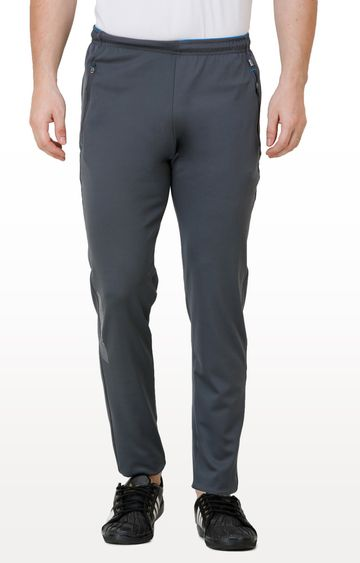 Eden Sports   Grey Solid Trackpants