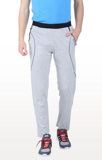Eden Sports | Grey Melange Trackpants