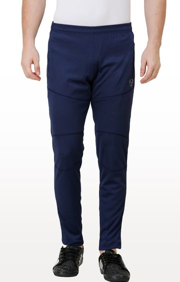 Eden Sports | Dark Blue Solid Trackpants