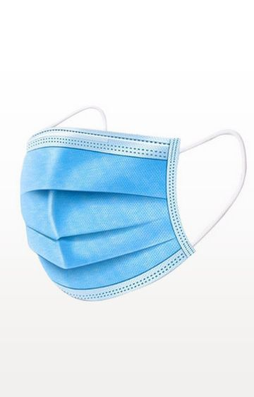 BALENZIA | Pack of 50 - 3 Ply Surgical Face Mask for Air Pollution