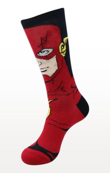 BALENZIA | Red Printed Socks