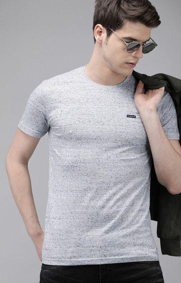 The Bear House | Grey Melange T-Shirt