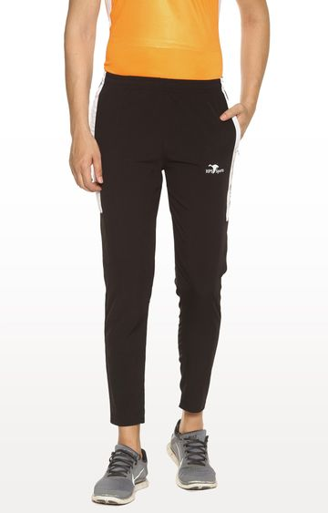HPS Sports | Black Solid Trackpants
