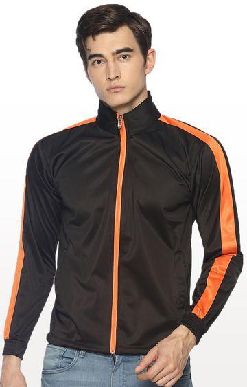 HPS Sports | Black Solid Activewear Jacket
