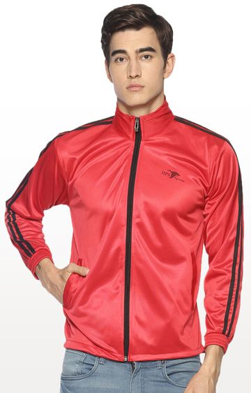 HPS Sports | Red Solid Activewear Jacket