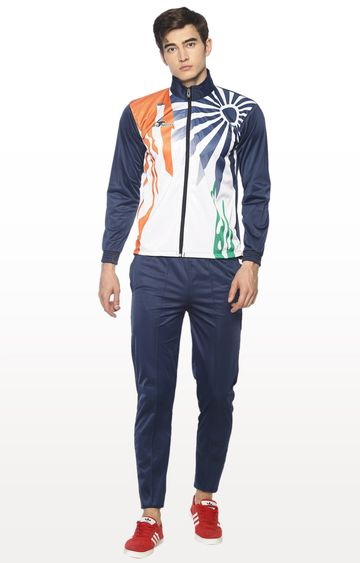 HPS Sports | Blue Printed Tracksuit