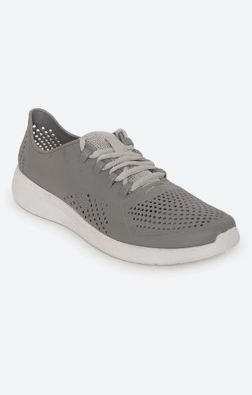 Climbr | Grey Casual Lace-ups