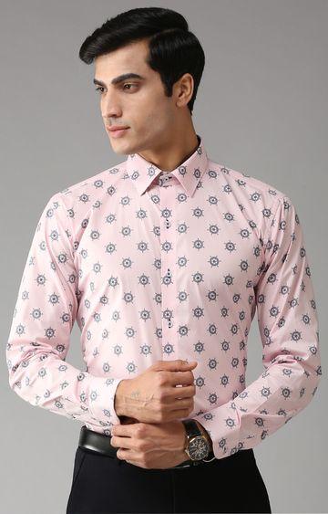 Eppe | Pink Printed Formal Shirt