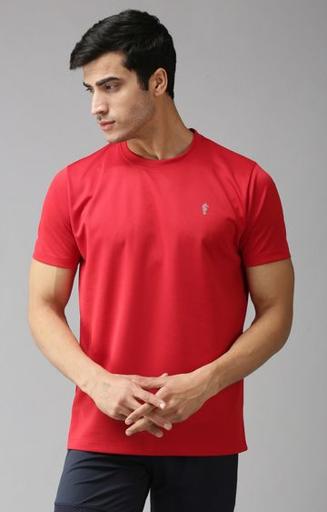 Eppe | Red Solid T-Shirt