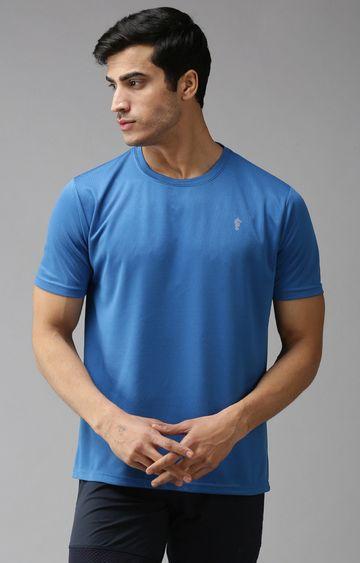 Eppe | Indigo Blue Solid T-Shirt