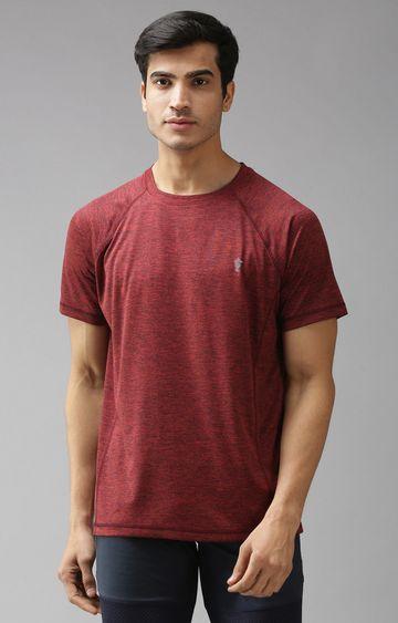 Eppe | Wine Melange T-Shirt