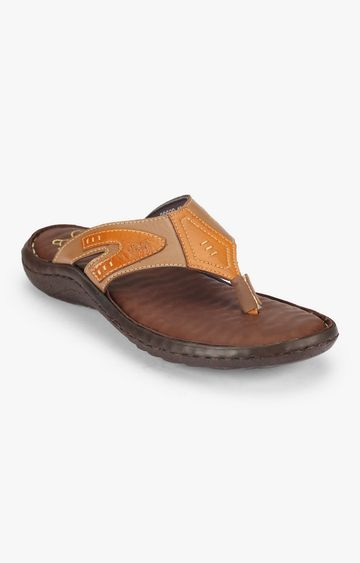 Attilio | Brown Wave Sandals