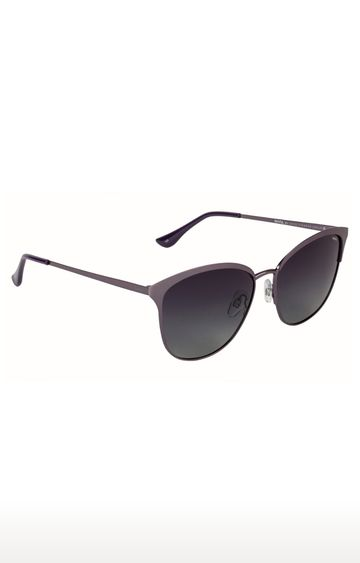 Invu | Cat-eye Sunglass with Grey Lens