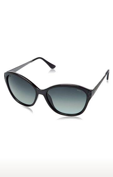 Invu | Cat-eye Sunglass with Blue Lens