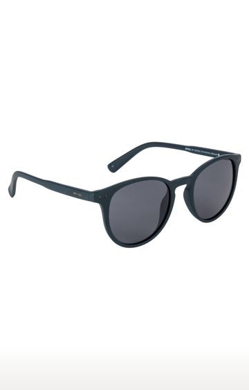 Invu | Round Sunglass with Grey Lens