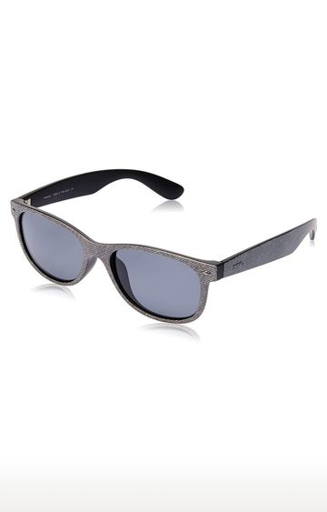 Invu | Rectangular Sunglass with Grey Lens