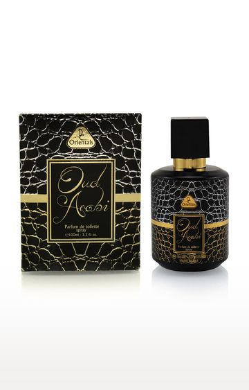 Dorall Collection   Orientals Oud Arabi Perfum de Toilette for Unisex 100 ML