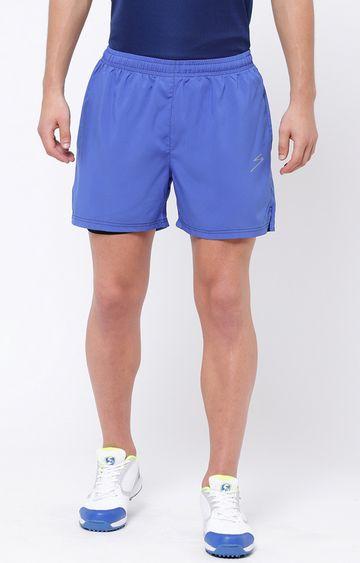 SG | Light Blue Solid Shorts