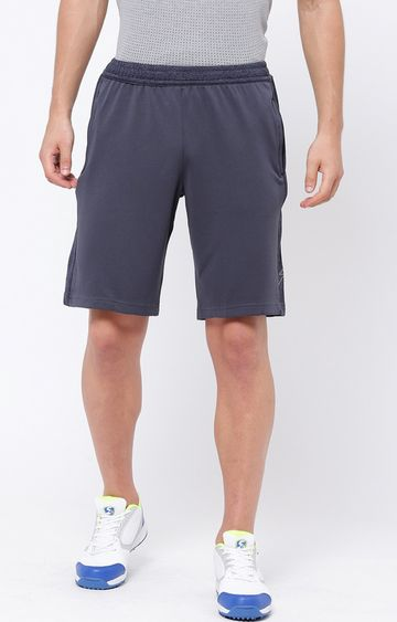 SG | Navy Solid Shorts