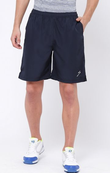 SG | Blue Solid Shorts