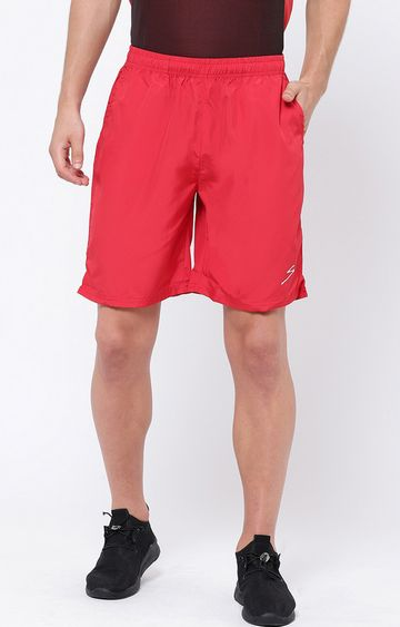 SG   Red Solid Shorts