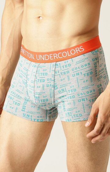 Undercolors of Benetton | Grey Printed Trunks