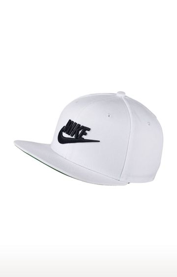 Nike | White Solid Baseball Cap