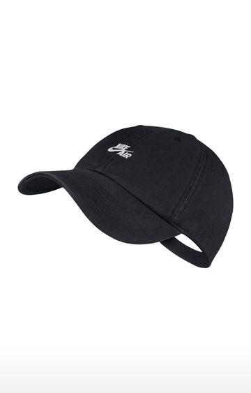 Nike | Black Solid Air Heritage 86 Baseball Cap