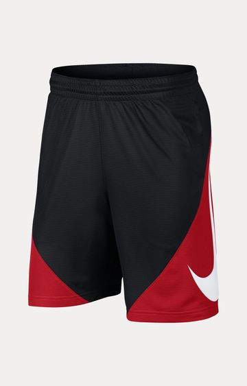 Nike | Black and Red Colourblock Shorts