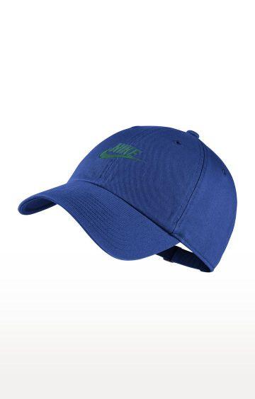 Nike | Blue Nike Sportswear Heritage86 Futura Washed Caps