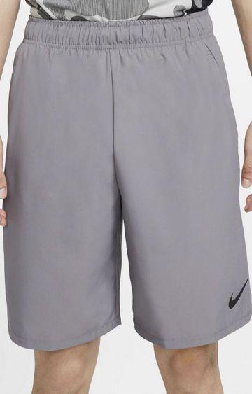 Nike | Grey Solid Shorts