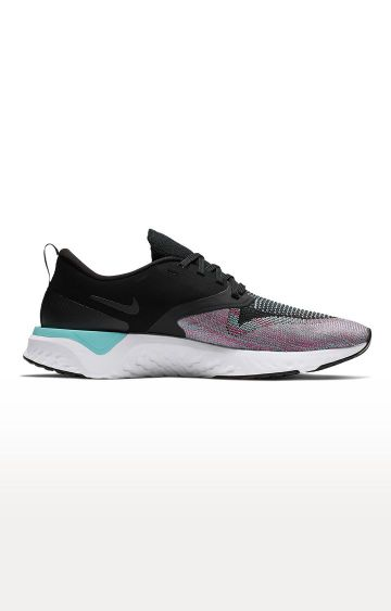 Nike   Black Odyssey React Flyknit 2 Running Shoes