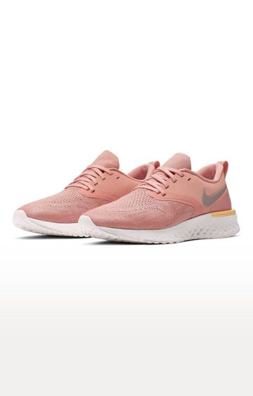 Nike | Red Odyssey React Flyknit 2 Running Shoes