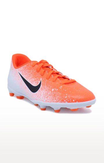 Nike | Orange Jr Vapor 12 Club MG Football Shoe