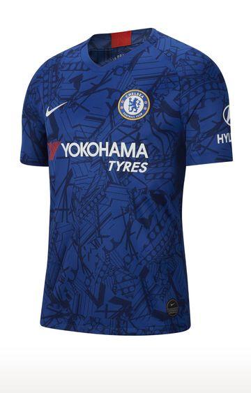 Nike | Blue Unisex Printed Chelsea Fc 2019 - 20 Stadium Home T-Shirt