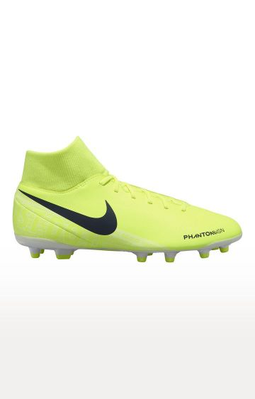 Nike | Yellow Phantom Vision Club Dynamic Fit FG Sports Shoes