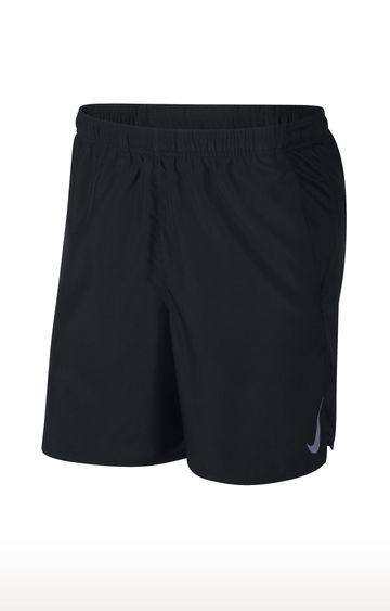 Nike | Black Solid Challenger Shorts