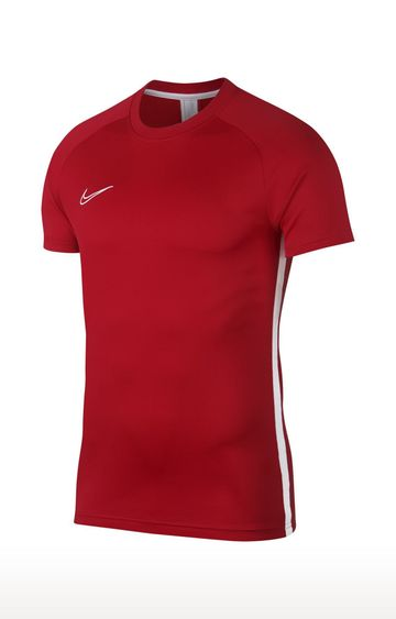 Nike | Red Solid Dri-Fit Academy T-Shirt