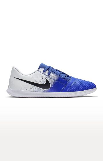 Nike | White and Blue Phantom Venom Club Ic Sports Shoes