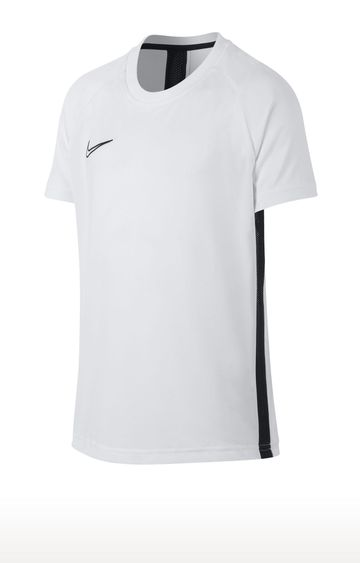 Nike | White Solid T-Shirt