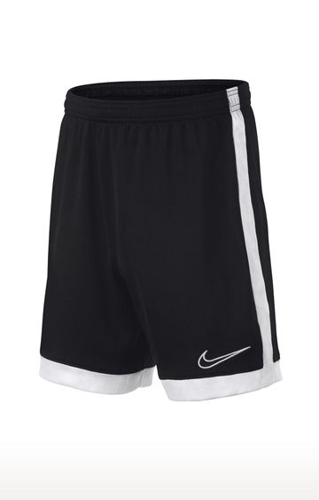 Nike | Black Solid Dri-Fit Academy Shorts
