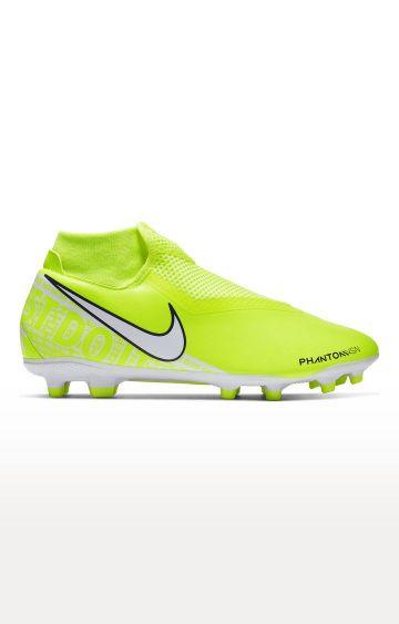 Nike | Green Phantom Vision Academy Dynamic Fit MG Football Shoes